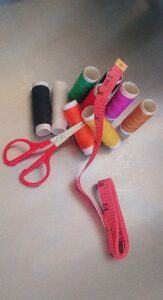 Creative-Arts-and-Crafts-Projects-Fabric-Covered-Baskets-Tools